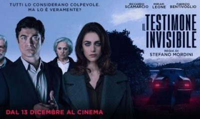 """""""Il testimone invisibile"""": il thriller italiano che sembra internazionale"""
